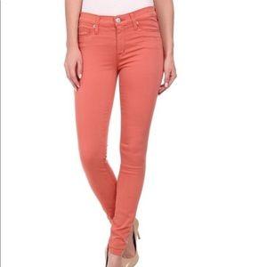 Hudson Mid Rise Super Skinny Jeans